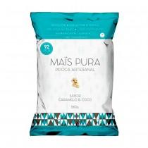 Pipoca Artesanal Caramelo e Coco - Mais Pura 150g