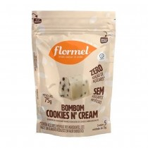 Pouch Bombom Cookies N'Cream - Flormel 75g