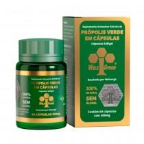 Própolis Verde - 60 Caps 500mg - Wax Green