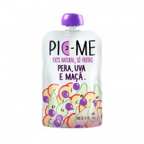 Purê de Frutas Pera, Uva e Maçã - Pic-Me 100g