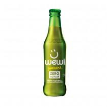 Refrigerante Natural sabor Guaraná Zero Açúcar - Wewi 255 ml
