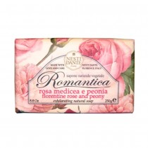 Sabonete Rosa Medicea e Peonia - Romantica - Nesti Dante 250g