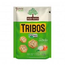 Snack Orgânico Tribos Cebola - Mãe Terra 50g