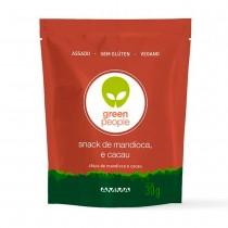 Snack de Mandioca com Cacau - Green People 30g