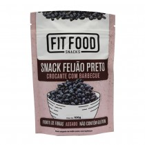 Snack Feijão Preto Barbecue - Fit Food 100g