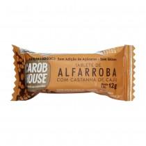 Tablete de Alfarroba com Castanha de Caju - Carob House 12g