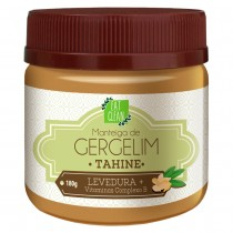 Manteiga Gergelim Tahine Levedura - Eat Clean 180g
