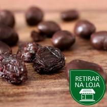 Uva Passa com Chocolate 70% Amargo a granel - 100g
