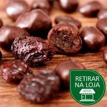 Uva Passa com Chocolate ao Leite a granel - 100g