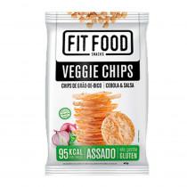 Veggie Chips Grão de Bico, Cebola e Salsa - Fit Food 40g
