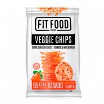 Veggie Chips Grão de Bico, Tomate e Manjericão - Fit Food 40g