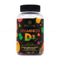 Vitamina D3 - 60 Unidades - Essential Nutrition 180g