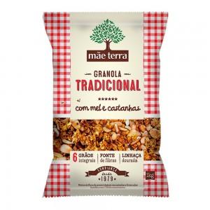 Granola Tradicional com Mel e Castanhas - Mãe Terra 1kg
