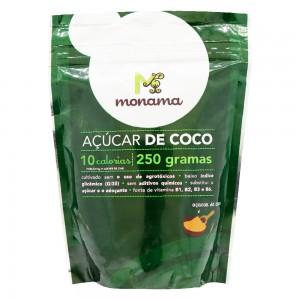 Açúcar de Coco Orgânico - Monama 250g