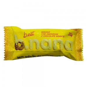 B.nana com Chocolate Branco - B.eat 35g