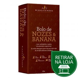 Bolo de Nozes e Banana – Bianca Simões 230g