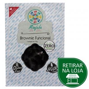 Brownie Funcional Zero Açúcar - Cucina di Manjuba 70g