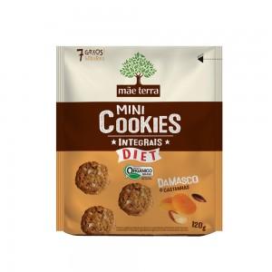 Cookie Integral Diet Damasco e Castanha - Mãe Terra 120g