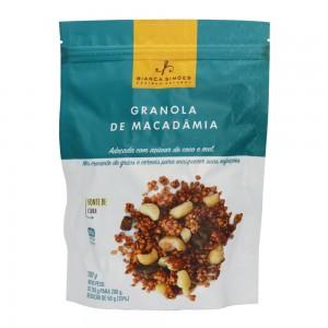 Granola de Macadâmia - Bianca Simões 200g