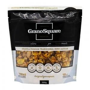 Granola Premium Tradicional Zero Açúcar - Grano Square 200g