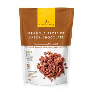 Granola Proteica Sabor Chocolate - Bianca Simões 150g