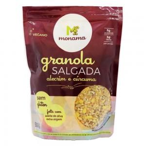 Granola Salgada Alecrim e Cúrcuma - Monama 200g