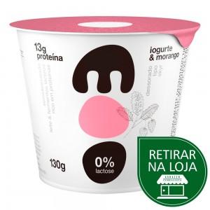Iogurte Zero Lactose de Morango - Moo 130g