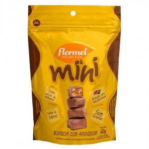 Mini Bombom com Amendoim Zero - Flormel 60g
