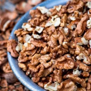 Nozes Chilenas Quartilhos a granel - 100g