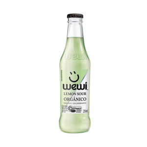 Refrigerante Natural Lemon Sour Orgânico - Wewi 255 ml