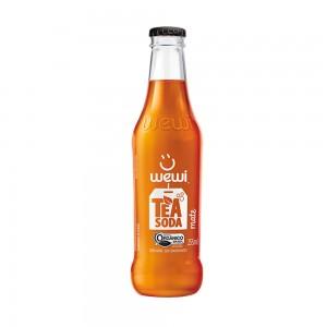 Refrigerante Natural Tea Soda Mate Orgânico - Wewi 255ml